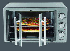 Oster Convection Manual French Door-Toaster Oven Stainless Steel