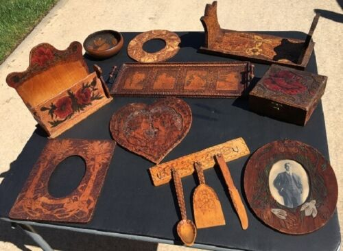 Collection of 10 Antique early 1900