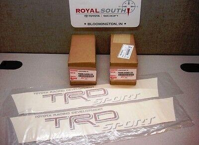 Toyota Tacoma TRD Red Sport Decal Emblem Sticker Kit Genuine OE OEM