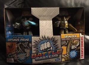 ~New in BOX - Battle Masters Grim Lock & Optimus Prime - $25~