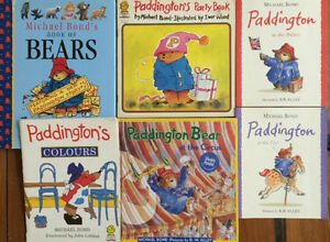PADDINGTON BEAR children's books $3 each or all 6 for $10