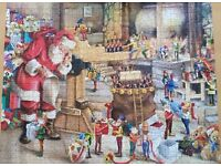 KING - CHRISTMAS Puzzel - SANTA's WORKSHOP 1000 Pieces