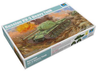 Trumpeter 9369543 Russischer Schwerer Panzer KW-3 1:35 Modellbausatz