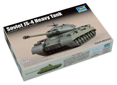 Trumpeter 9367143 Sowjetischer Schwerer Panzer IS-4 1:72 Modellbausatz