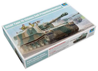 Trumpeter 9365577 Japan. Panzerhaubitze JGSDF Type 75 155mm 1:35 Modellbausatz