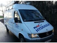 Left hand drive Mercedes Sprinter 312d mwb