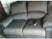 Large 2 seater electric reclining chair