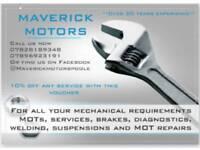 Mechanic car repairs servicing