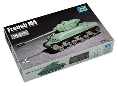 Trumpeter 9367169 Mittlerer Panzer M4 Sherman (Frankreich) 1:72 Modellbausatz
