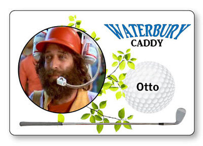 OTTO THE CADDY HAPPY GILMORE NAME BADGE PROP HALLOWEEN COSPLAY PIN BACK - Caddie Halloween Costumes