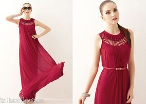 7275 BNWT SEXY COCKTAIL BRIDESMAIDS WEDDING FORMAL PARTY EVENING MAXI DRESS SZ 8