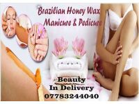 Mobile Therapist waxing