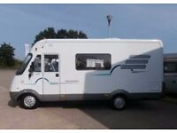 Hymer B series motorhome WANTED. 1998 0nwards, Must have Cruise, aircon, Towball/motorbike carrier