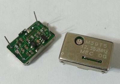 Square Wave Crystal Oscillator Mec Mercury M39t5 12.352mhz Tcxo Dip14 New 25pc