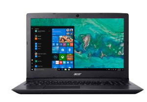 "Acer Aspire 3 15.6"" Laptop - Black (AMD Ryzen 5 2500U/1TB HDD/8G"