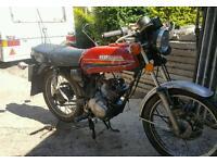 Honda cb 100 project plaggy cg cub