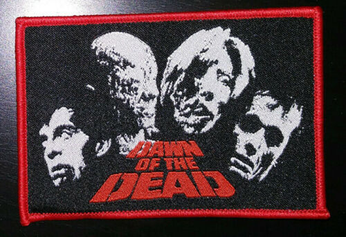 Dawn of the Dead WOVEN PATCH - HORROR movie George Romero, Night Living, Zombies