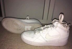 Nike Air Force 1 trainers, size UK 4