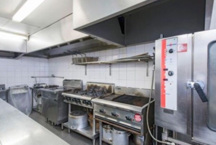 Commercial kitchen for hire