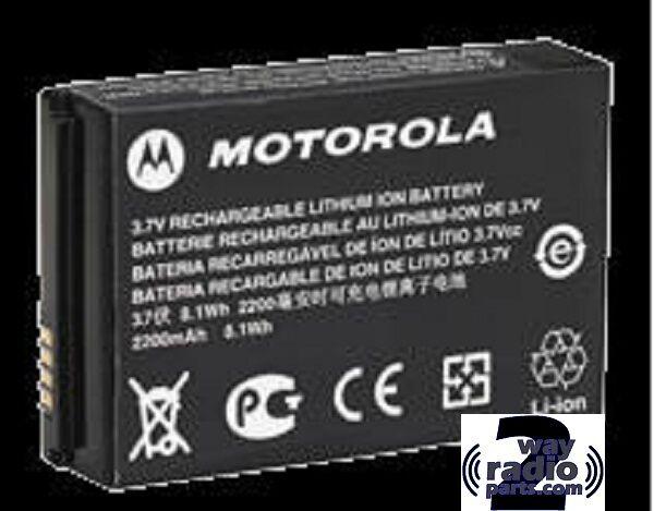Real Motorola Li-Ion 2300 mAh Ultra High Battery MotoTRBO SL300 SL7550 PMNN4468A