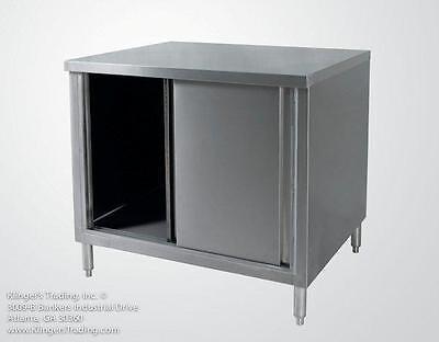 30x72 Stainless Steel Storage Cabinet