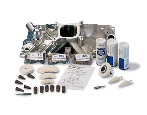 Eastwood Aluminum Intake Manifold Polishing Buffing Kit