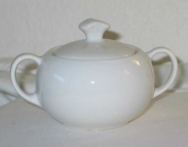 Vintage Winfield White Porcelain Sugar - Not Decorated!
