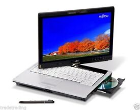i3 FUJITSU LIFEBOOK TABLET LAPTOP 2.4GHZ 4GB 160GB DVDRW WIN 7 TOUCHSCREEN