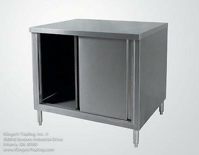 30x60 Stainless Steel Storage Cabinet