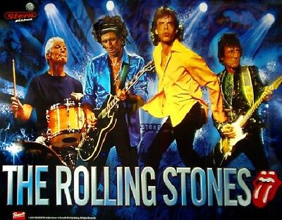 ROLLING STONES Complete LED Lighting Kit custom SUPER BRIGHT PINBALL LED KIT