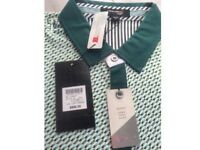 Men's Crocodile Designer Polo Shirt BNWT