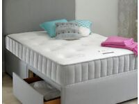 *Small double bed & memory foam mattress* hardly used
