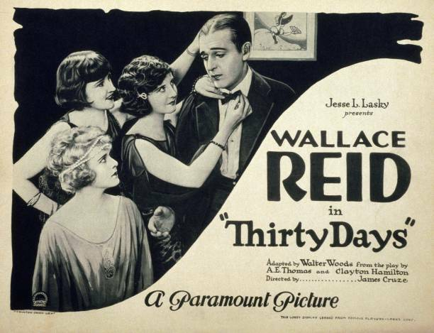 OLD MOVIE PHOTO Thirty Days Poster Us Poster Wandy Hawley Wallace Reid 1922
