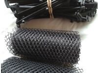 4 rolls of gutter guard & fixings - UNUSED - price for all. Selling other items.