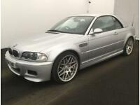 2004 BMW M3 3.2 Convertible Manual Facelift + Sat Nav + HARD TOP + LONG MOT