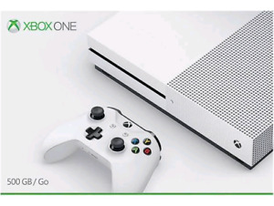 ### Xbox ONE S - 500GB - All mint and working perfectly ####
