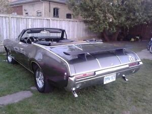 68 OLDS CUTLASS 442 CLONE CONVERTIBLE. MAY TRADE