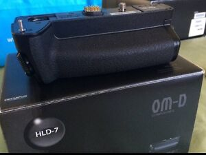 OLYMPUS HLD-7 battery grip for OM-D EM1 Woolloongabba Brisbane South West Preview