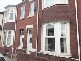 Beautiful 4 bed house to let on Leamington Street, Sunderland- Very spacious