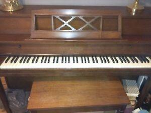 Willis & Eco Piano & Bench - Beautiful Condition!