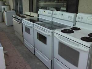 SALE! USED STOVE CLEAR-OUT  -  STOVES SALE starting $250  -  Smooth Top STOVES  starting $325