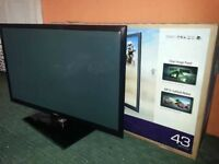 43 inch Samsung hd 3D tv !!