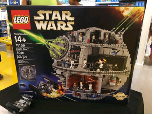 Death Star Lego set, unopened and in great condition
