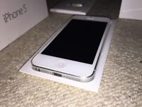 iPhone 5 / White & Silver / 16Gb