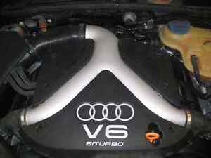 Audi 2.7T twin turbo engine complete with accessories