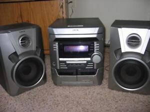 Radio Sony MHC-BX2 Chaîne stéréo 3 CD