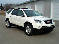 2008 GMC Acadia fully loaded every option.  8 seater REDUCED