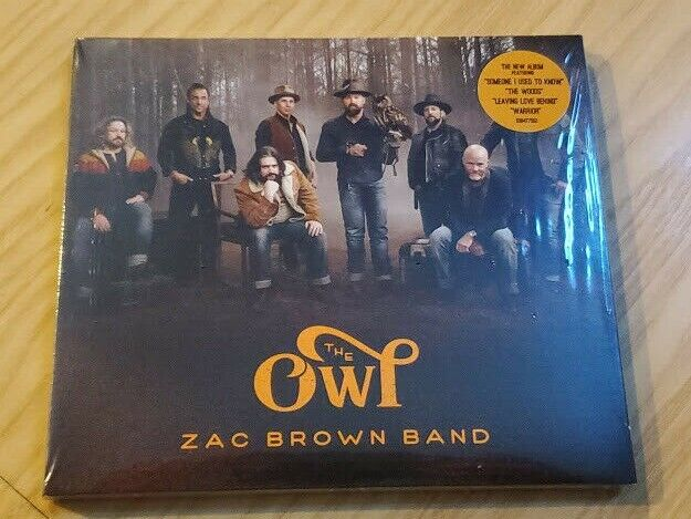 Zac Brown Band The Owl CD Album 2019 Physical Factory Sealed NEW READY 2 SHIP