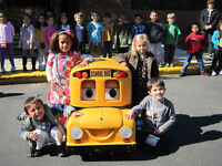 School Bus Safety Trainer (In Elementary Schools)