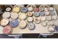 Vintage plates x 300 ideal for WEDDING